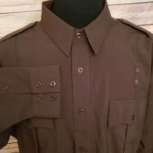 5.11 Tactical A Class Uniform Brown Shirt Work XL